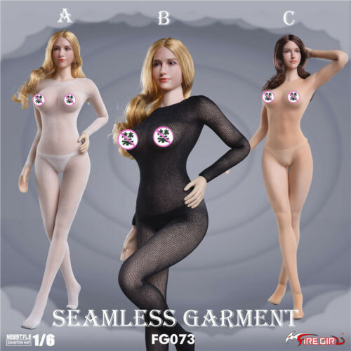 """Fire Girl Toys 1//6 FG073 Female Siamese Stockings Clothing Fit 12/"""" Action Figure"""