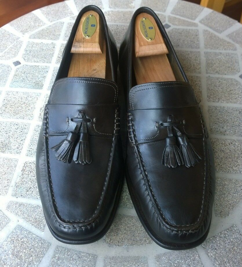 a26833bb888f Santoni- Men s shoes- Dark Brown Tassel Loafers- Made in - Size 10.5D. Cole  Haan Men s Pinch Weekender LX Stitchlite ...
