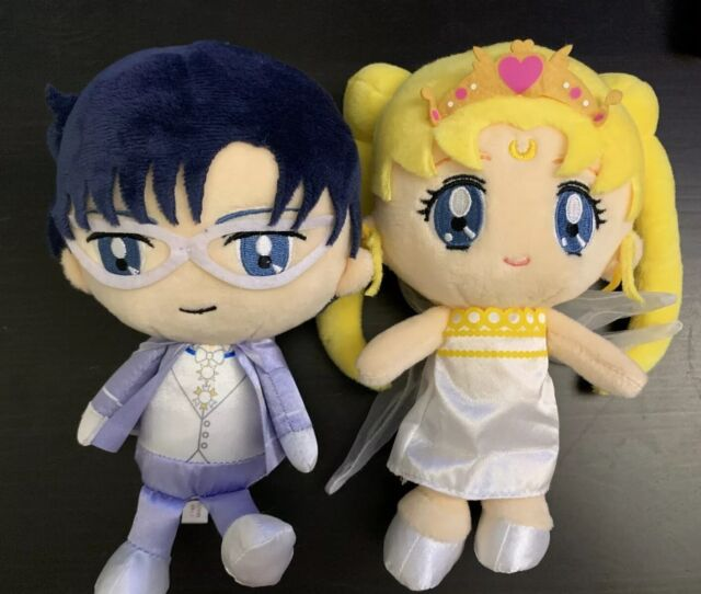 Sailor Moon Neo Queen Serenity /& King Endymion Plush Doll Pair set bridal usagi