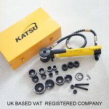 405193 8pcs Hydraulic Knockout Hole Punch Driver Tool Set Kit 22-60mm