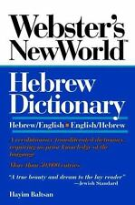 Hebrew Dictionary by Hayim Baltsan (1994, Paperback)