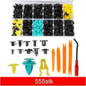 555-x-Auto-Niete-Clip-Sortiment-Tuerverkleidung-fuer-PKW-KFZ-Werkstattbedarf-Set