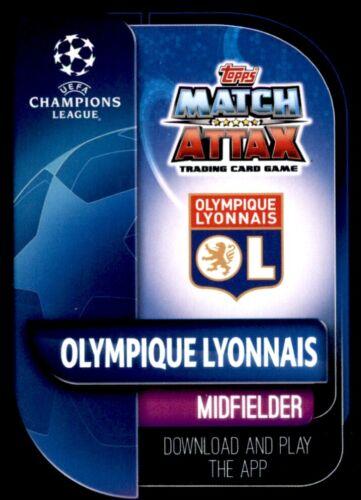 houssem Aouar Lyon Club MVPs No 286 Match Attax Liga de Campeones 19//20