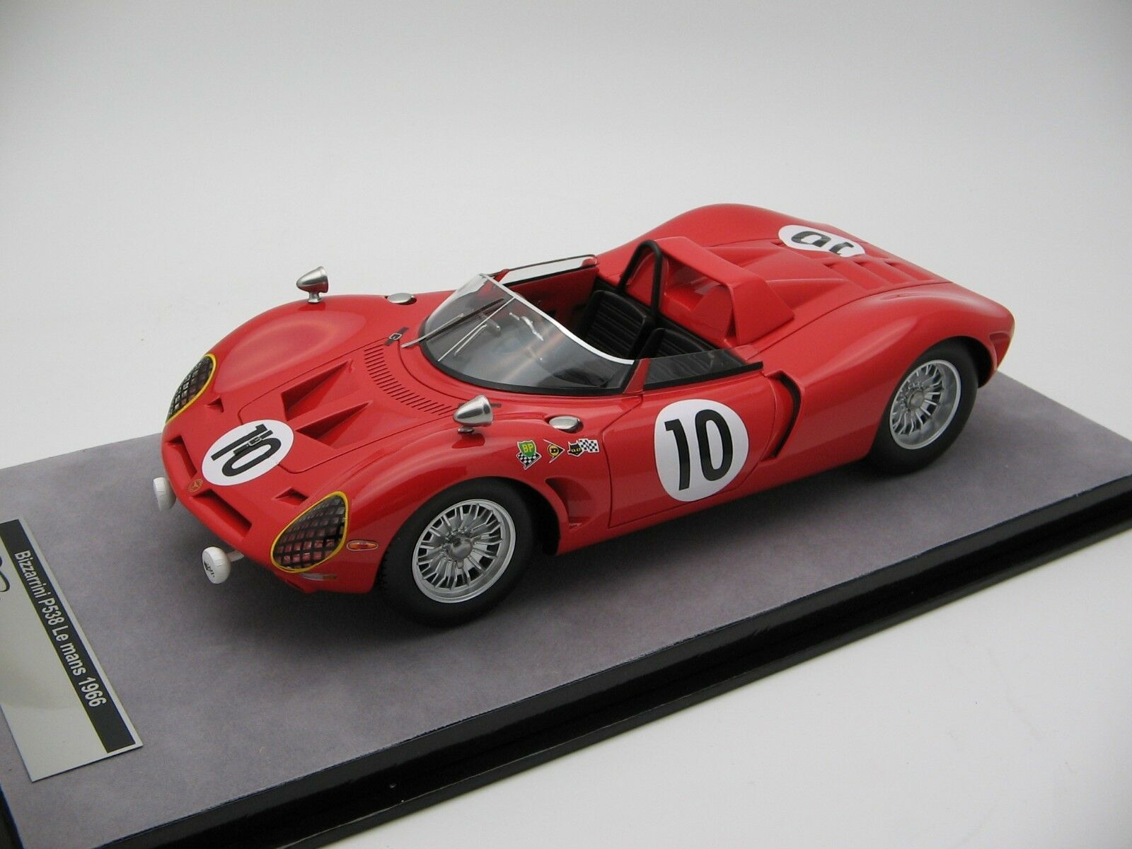 scale Tecnomodel Bizzarrini P538 Le Mans 24h 1966 - TM18-97A