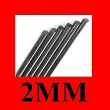 2mm Diameter x 300mm Carbon Fiber Bar Rods Tool For RC Airplane Matte Pole Kite