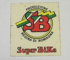 VECCHIO ADESIVO CICLISMO MOTO / Old Sticker SB REGINA DI ROMAGNA (cm 5x6)