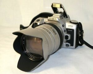 camera MINOLTA 505 si super dynax,SIGMA DL HyperZoom macro 3,5-5,6/28-200mm.Lens