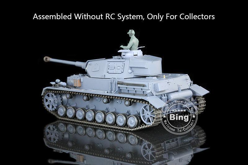 Henglong 1 16 German IV F2 Flastic Static Model Tank 3859 W O Electronic