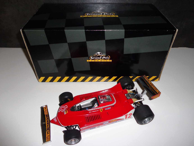 Ferrari 312 T4 F1 Villeneuve Exoto 1 18