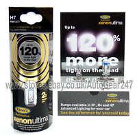 Ring Xenon Ultima 120% Brighter H7 RW1277 100% Gas Car Head light Lamp Bulb+Free