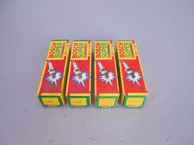 4x BOSCH W9LC Zündkerzen 0241225012