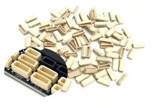 Micro Mini SH 1.0mm 3-Pin 3 WAY Male Connector Side Entry Header PCB Board x 50