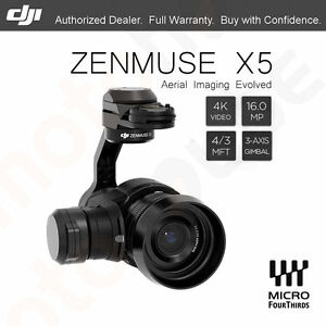 DJI ZENMUSE X5 4K Video 16MP Camera 3-Axis Gimbal 30 FPS for INSPIRE 1 / 1 PRO