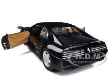 FERRARI 348 TB BLACK 1/18 DIECAST MODEL CAR BY HOTWHEELS X5530