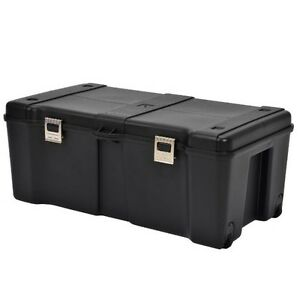 Image Is Loading Footlockers Storage Trunk Locking Rolling Trunks  Chests Large