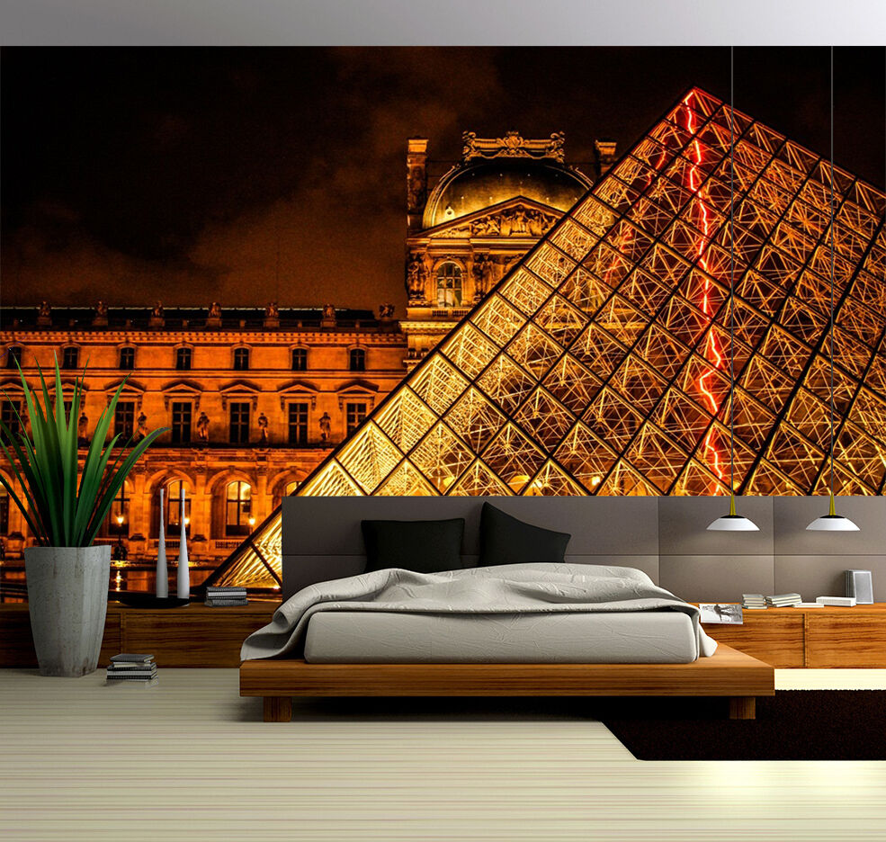 3D Beautiful Louvre 410 WallPaper Murals Wall Print Decal Wall Deco AJ WALLPAPER