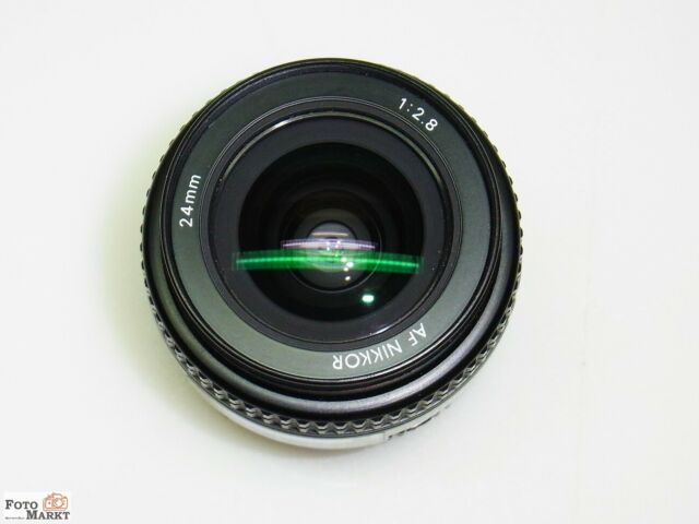 Nikon Nikkor AF 24mm 1:2,8 Weitwinkel Objektiv lens Vollformat FX-Sensor D750