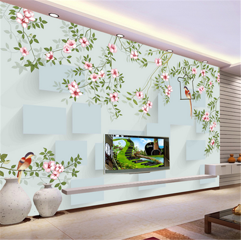 3D Fresh Flowers Leaves 899 Wallpaper Mural Paper Wall Print Wallpaper Murals UK