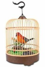 Singing & Chirping Bird In Cage - Realistic Sounds & Movements RED BC507E