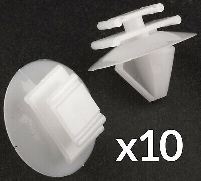 50X DOOR CARD TRIM PANEL MOULDING CLIPS Fits Peugeot 106 206 207 306 307 806