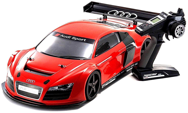Kyosho 34102B Inferno GT2 VE Race Specs Audi R8 LMS red