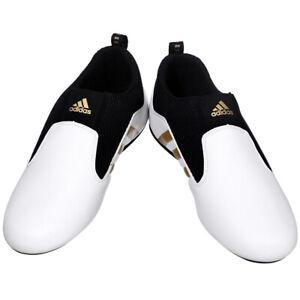 Details about Adidas Taekwondo shoes/Footwear/martial arts shoes/CONTESTANT PRO/WH/BK/GOLD