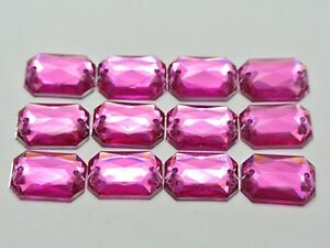 21x16mm Shaped Acrylic Sewing Rhinestone Button Flatback with hole(Rose red)