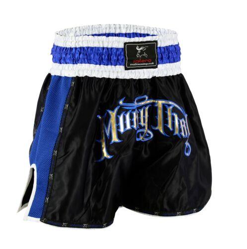 ISLERO Cage Fight Muay Thai Shorts MMA Kick Boxing Grappling Martial Arts Gear