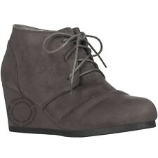 b453d4bd8fc item 2 New Women s Round Toe Lace Up Wedge Heels Suede Ankle Boots Booties   WITH BOX  -New Women s Round Toe Lace Up Wedge Heels Suede Ankle Boots  Booties ...