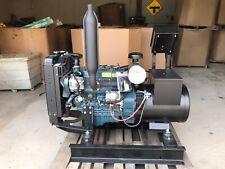 New 15 Kw Kubota Diesel Generator 120208 Volt 3 Ph Re Connectable Marathon
