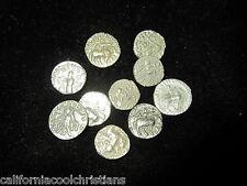 "1 -Premium grade - SILVER Biblical coins of the Magi 35 BC– 5 AD,""The 3-Wisemen"""