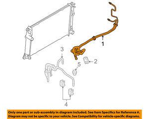 image is loading ford-oem-transmission-oil-cooler-line-be5z7r081a