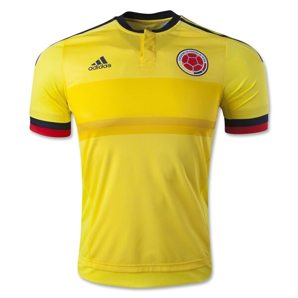 8928d109c81 adidas Colombia Home Soccer Jersey M62782 Yellow navy Youth Sizes L for  sale online