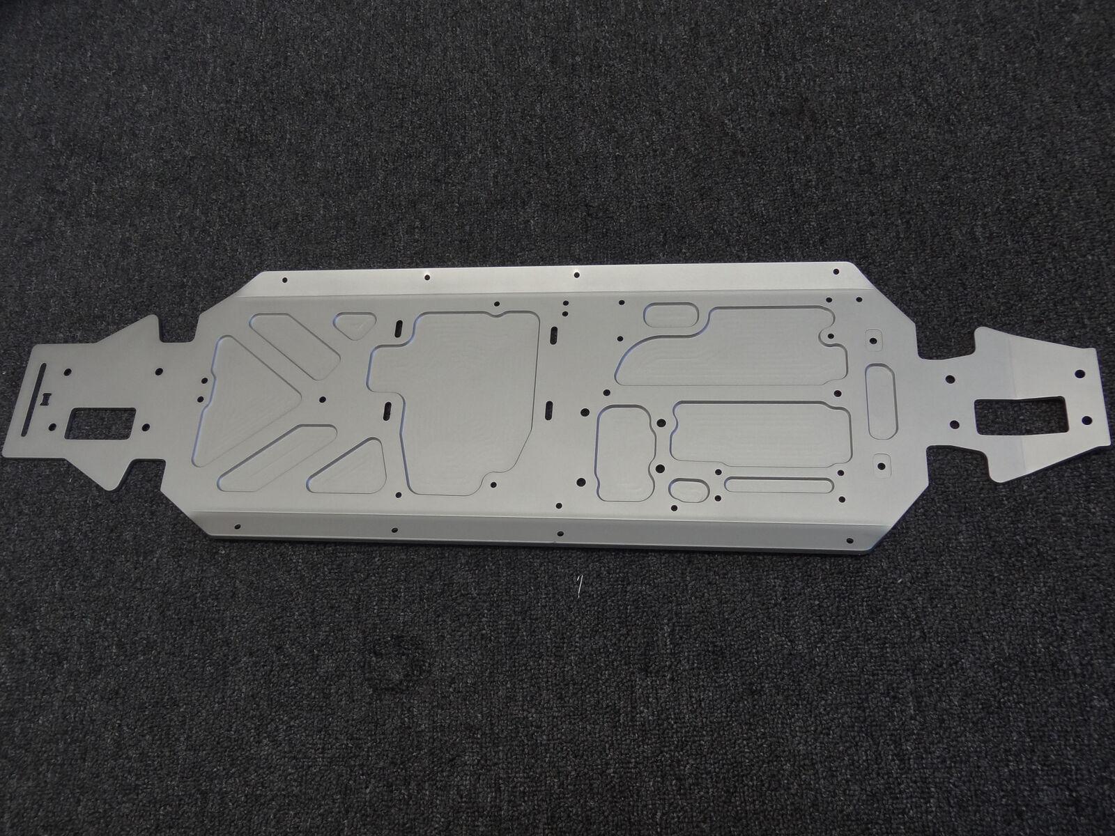 15 Rovan teniente SC camión HD aluminio marco principal chasis para LOSI 5IVE-T KM X2