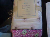 Pottery Barn Kids Brooklyn Crib Bedskirt