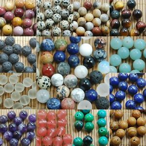 DIY-Natural-Gemstone-Round-Spacer-Beads-Jewelry-Making-4mm-6mm-8mm10mm-Wholesale