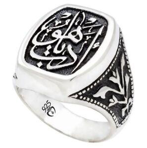 bague diamant homme islam