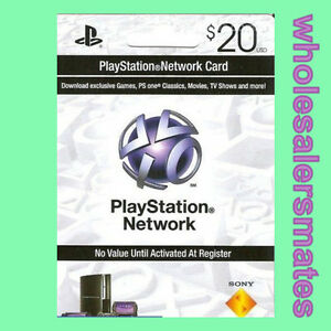 playstation 3 psn network card 20 us store 20 usd f r ps3. Black Bedroom Furniture Sets. Home Design Ideas