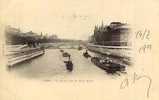PARIS La Seine vue du Pont Neuf (précurseur)