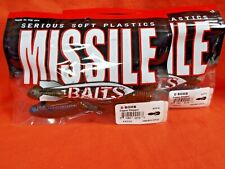 "Missile Baits MBDB45CPCH D Bomb 4.5/"" Copper Chopper 6pk Fishing Tackle Lure"