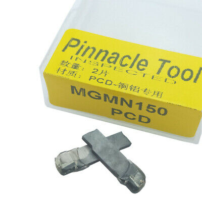 2pcs VCMT copper Polycrystalline diamond tools VCGT110304 PCD for Aluminum