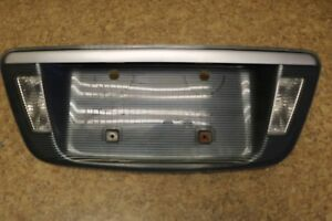 ACURA TL REAR TRUNK LICENSE PLATE HOLDER PANEL REVERSE LIGHT - Acura tl license plate frame