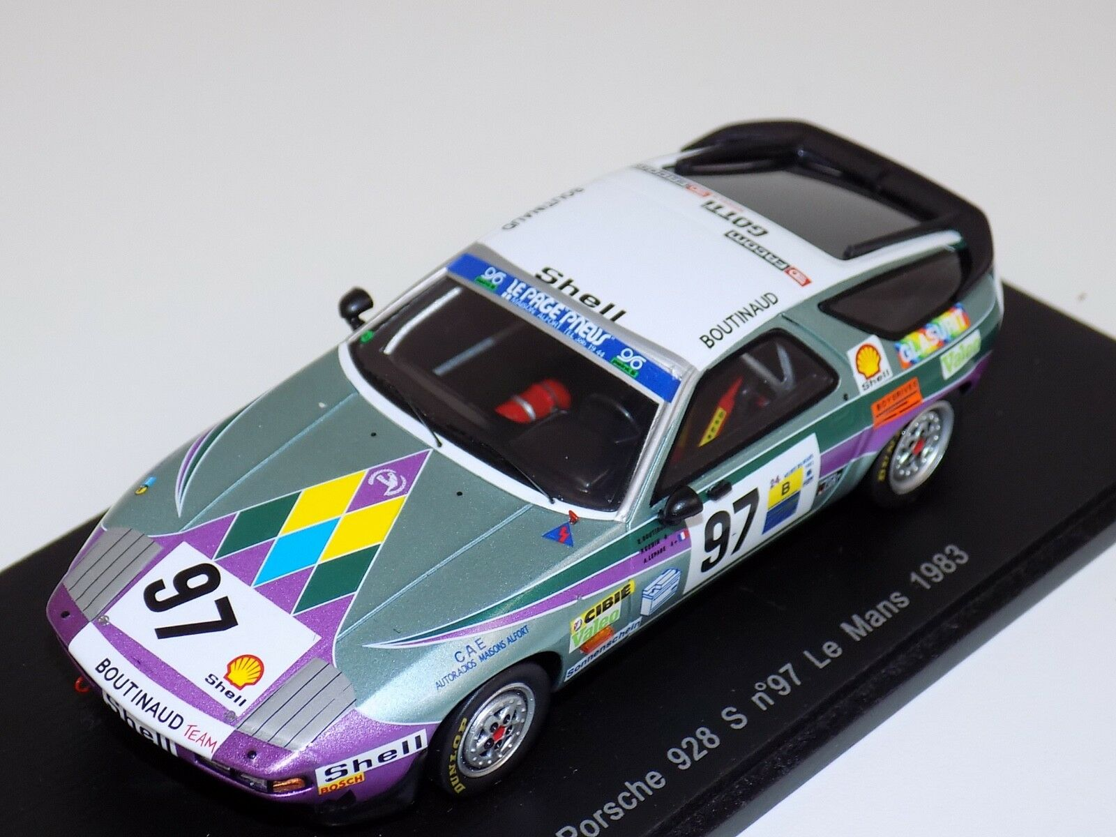 1 43 Spark Porsche 928 S Coche horas de LeMans S3407