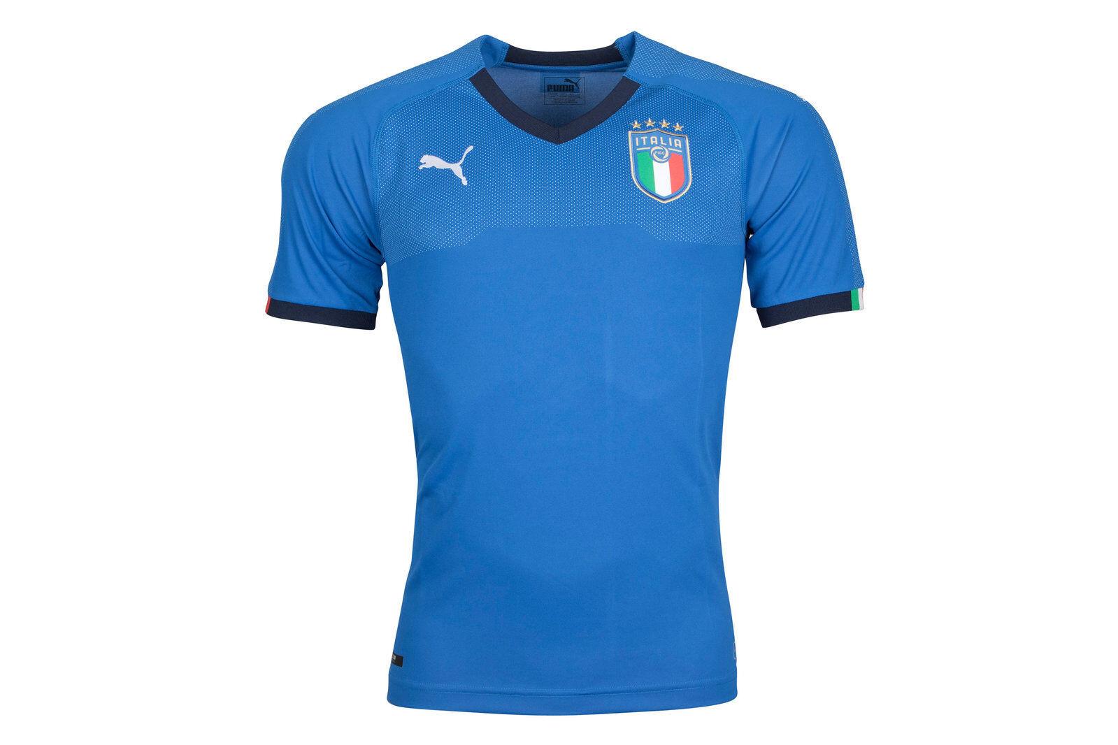 Puma Da Uomo Italia 2018 Home S S S S replica FOOTBALL SHIRT TOP Sport Training d38875