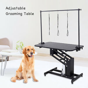Z Lift Hydraulic Dog Pet Grooming Table Portable