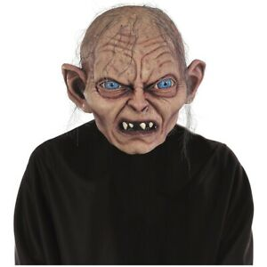Gollum-Costume-Mask-Adult-Lord-of-the-Rings-Snarling-Smeagol