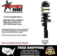 Complete Strut Passenger Side Malibu, G6, Aura Lifetime Warranty W/shipping