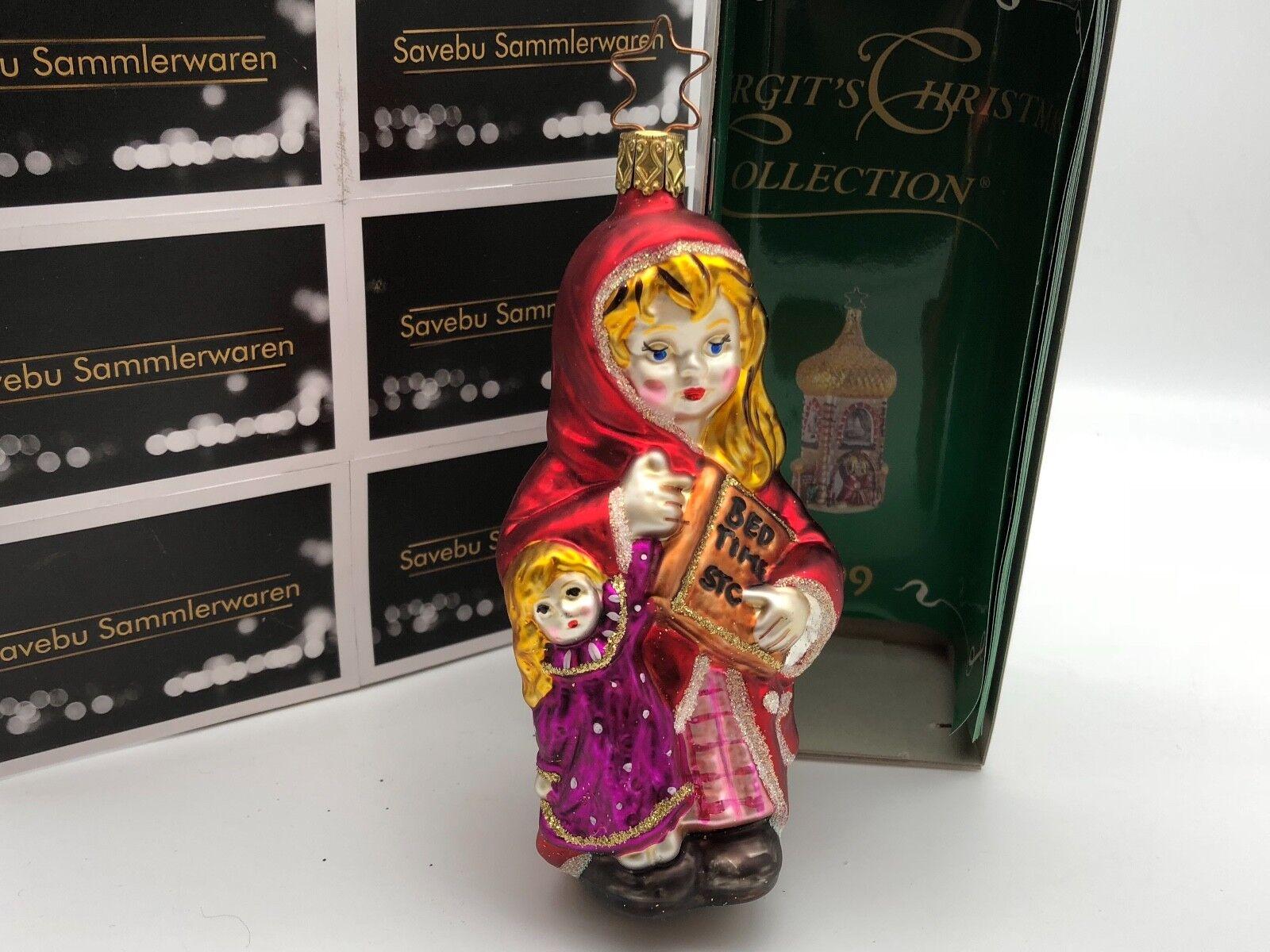 Inge Glas  Birgit´s Christmas Collection Süße Träume 13 cm  Limitiert