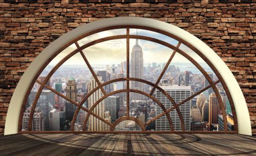 2397 Nappes Papier Peint-New York MANHATTAN USA Ville Skyline City Taxi Rock XXL