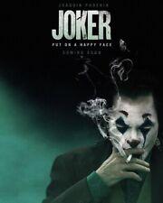 Joker Movie Poster 2 Joaquin Phoenix Art Silk Canvas Poster Print 13x20 32x48/'/'